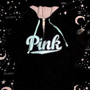 Victoria's Secret Pink 'Galaxy' Half Zip Hoodie